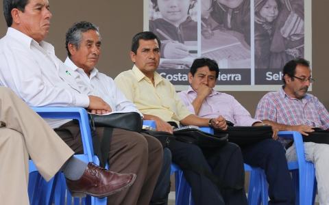 Se evalúa condiciones de Institutos Superiores de la región